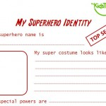 superhero identity card thumbnail
