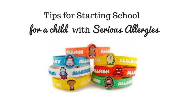 tips for child starting school with allergies