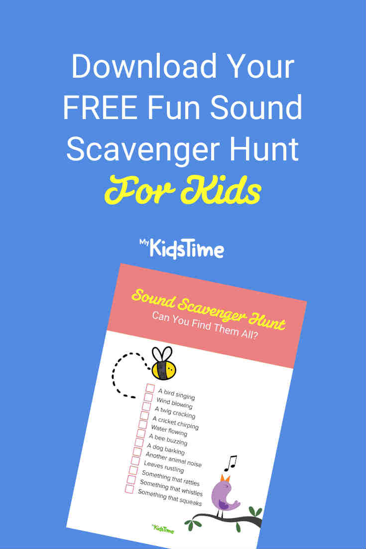 Download Your FREE Fun Sound Scavenger Hunt for Kids - Mykidstime