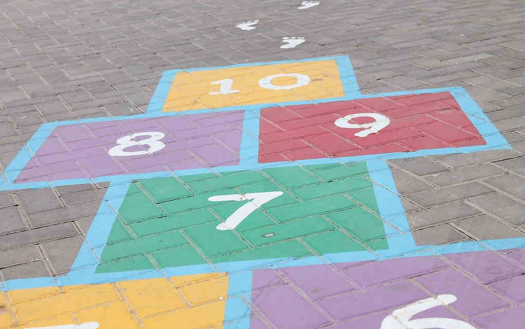 hopscotch for childhood games