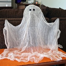 easy ghost decoration