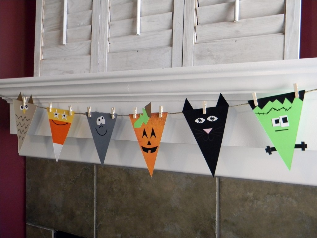 halloween bunting - Halloween Printable Crafts For Kids 2