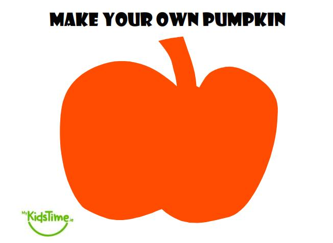 Halloween fun create your own pumpkin for Design your own house online for fun