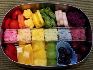 lunch box ideas Rainbow Lunchbox