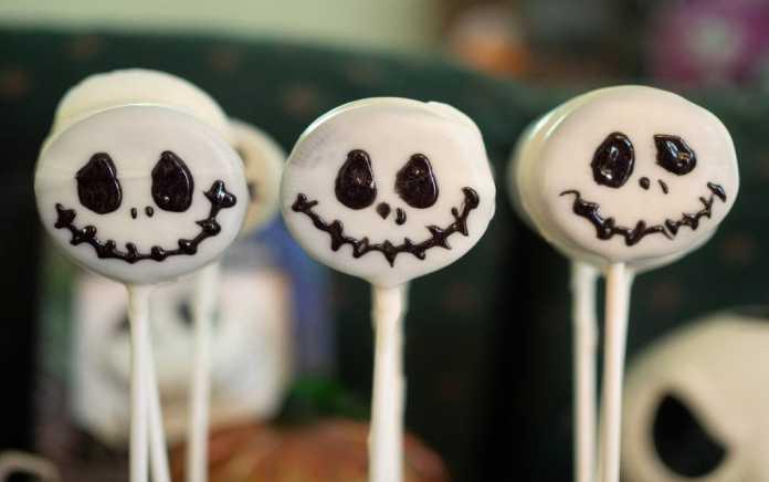 easy halloween recipes cake pop jack skellington