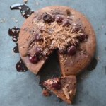 Gluten Free Chocolate Cherry Cake