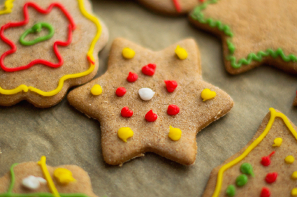 star cookie christmas