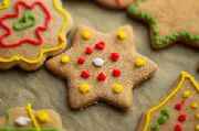 bake sales ideas Christmas Star Cookies