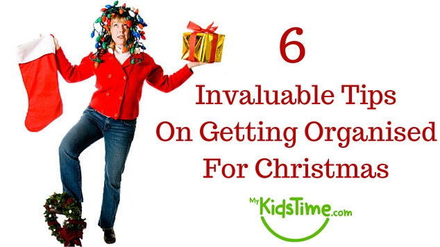 6 Tips for Getting Organised for Christmas