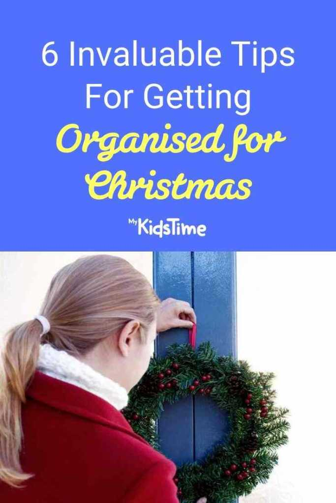 invaluable tips for getting organised for christmas