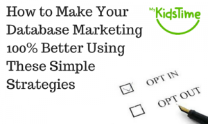 How to Make Your Database Marketingbetter