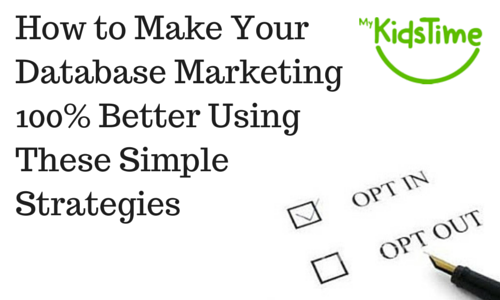 How to Make Your Database Marketing better