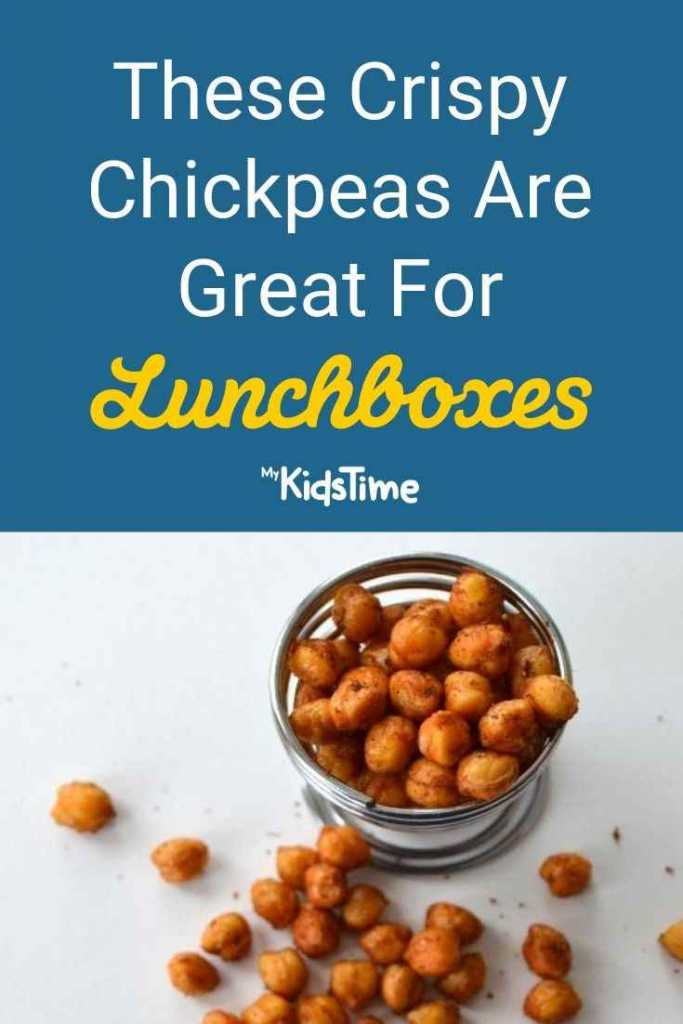 These Crispy Chickpeas are Great for Lunchboxes