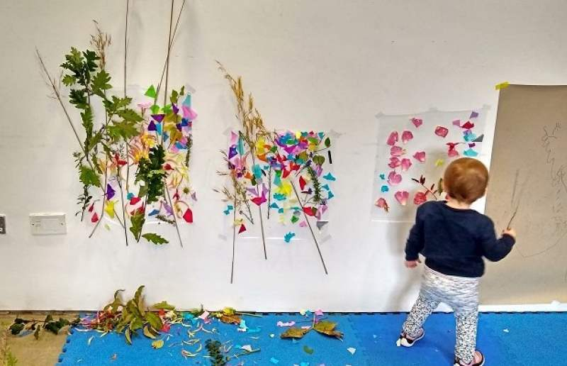 parent and toddler art classes visual carlow