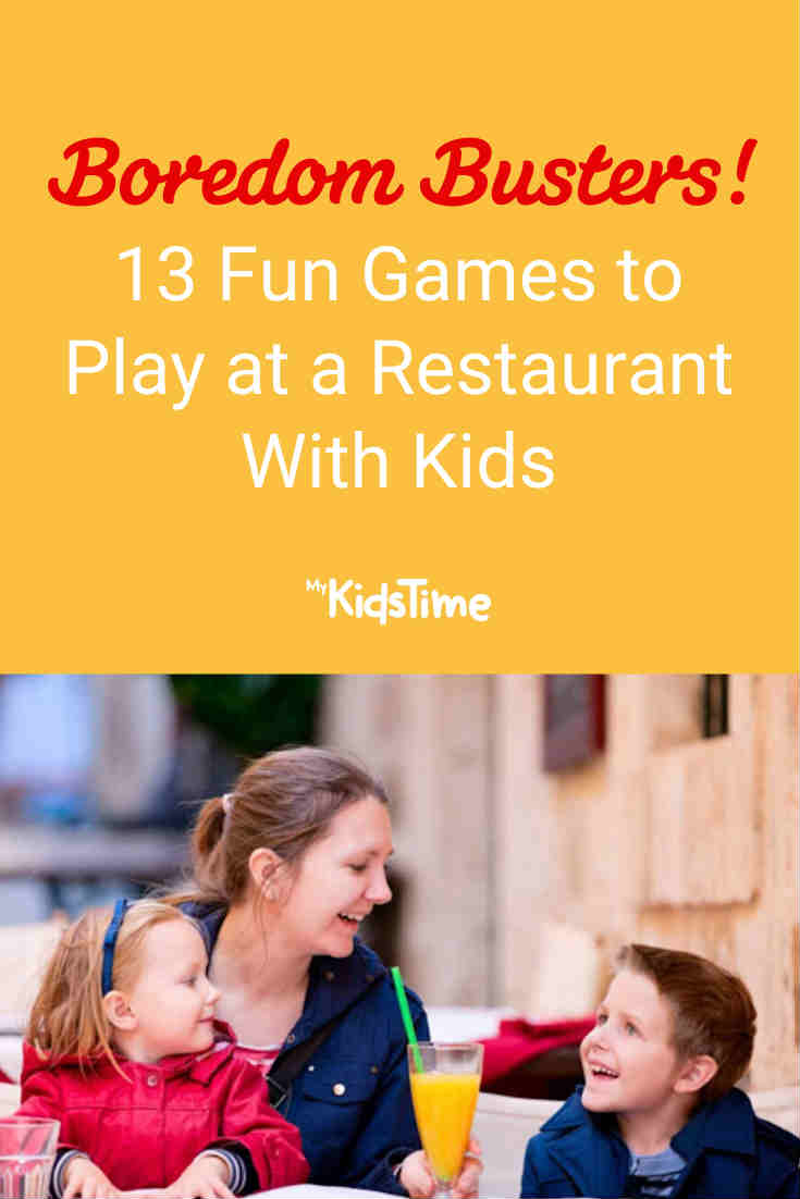 13 Fun Games to Play at a Restaurant - Mykidstime