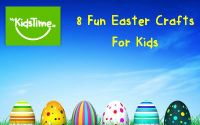 8 Fun Easter Crafts fior Kids featured