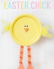 Paper_plate_easter_chick