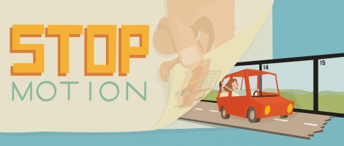 Stop Motion website banner