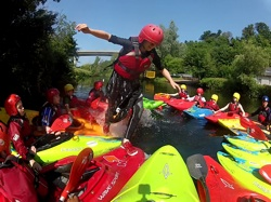 Canoeing Ireland Eater Camps