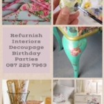 Refurnish Decoupage Birthday Parties