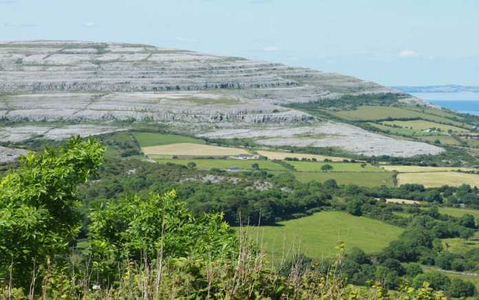 the burren road trips around Ireland