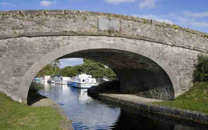 Bridge over Grand Canal outdoor places in Offaly