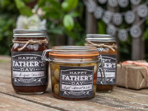 FathersDay Jar Labels