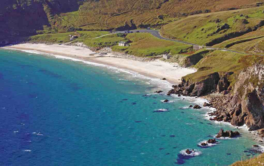 Keem Bay on Achill Island