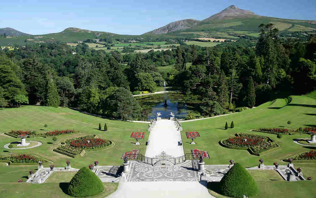 Powerscourt Estate for things to do in Leinster - Mykidstime