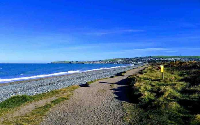 beach outdoor places in wicklow