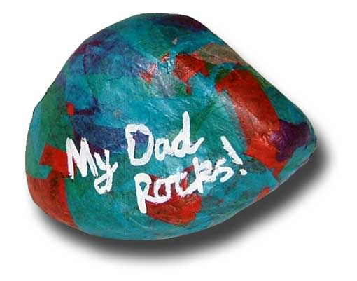 dad-rocks craftforkids