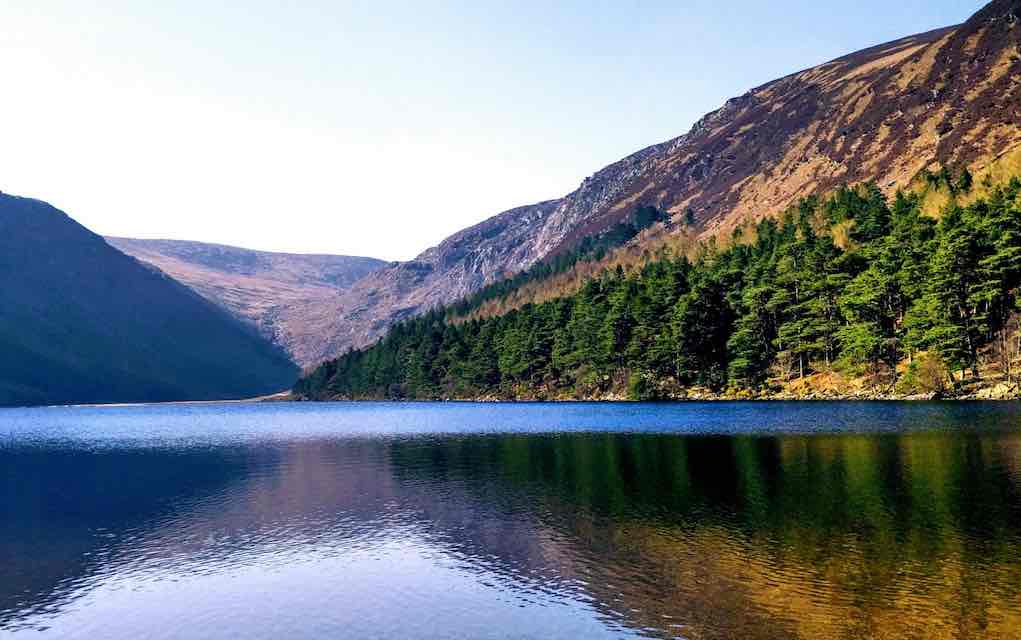 Glendalough family vacation in Ireland