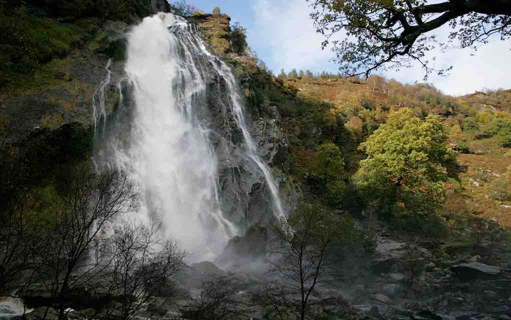 things to do in Wicklow with kids Powerscourt Waterfall