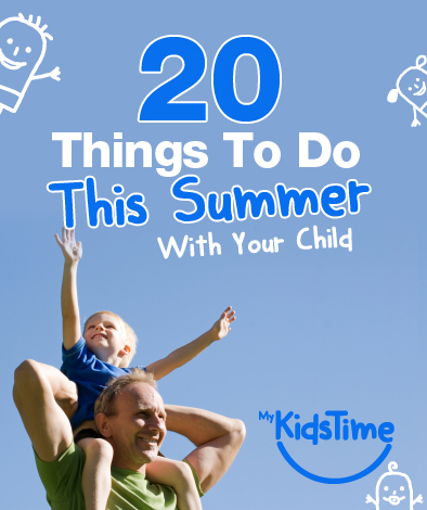 20 things to do this summer with your child portrait