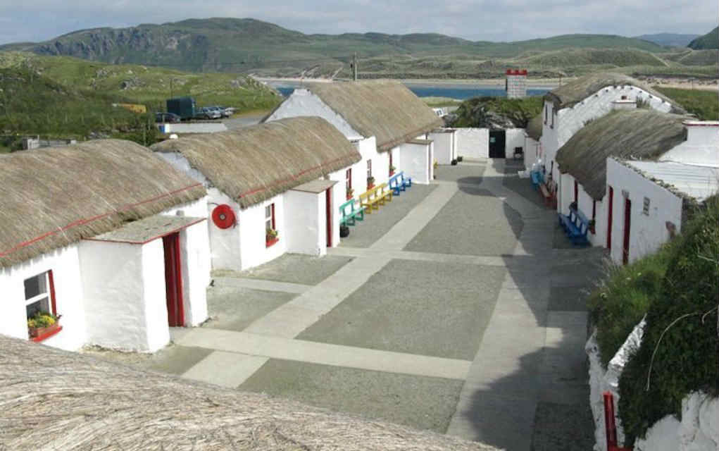 Doagh Famine Village for things to do in Donegal - Mykidstime