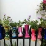 upcycling wellies