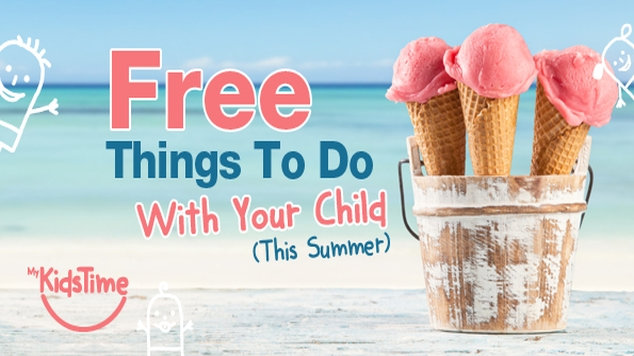 free things to do with your child this summer