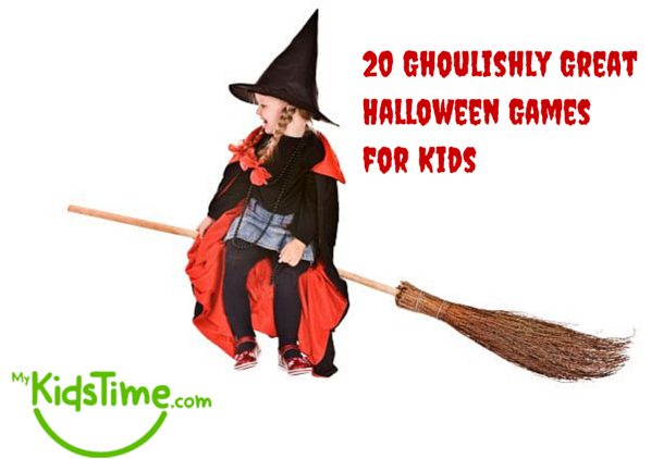 20 ghoulishly great halloween party games for kids for How to have a great halloween party