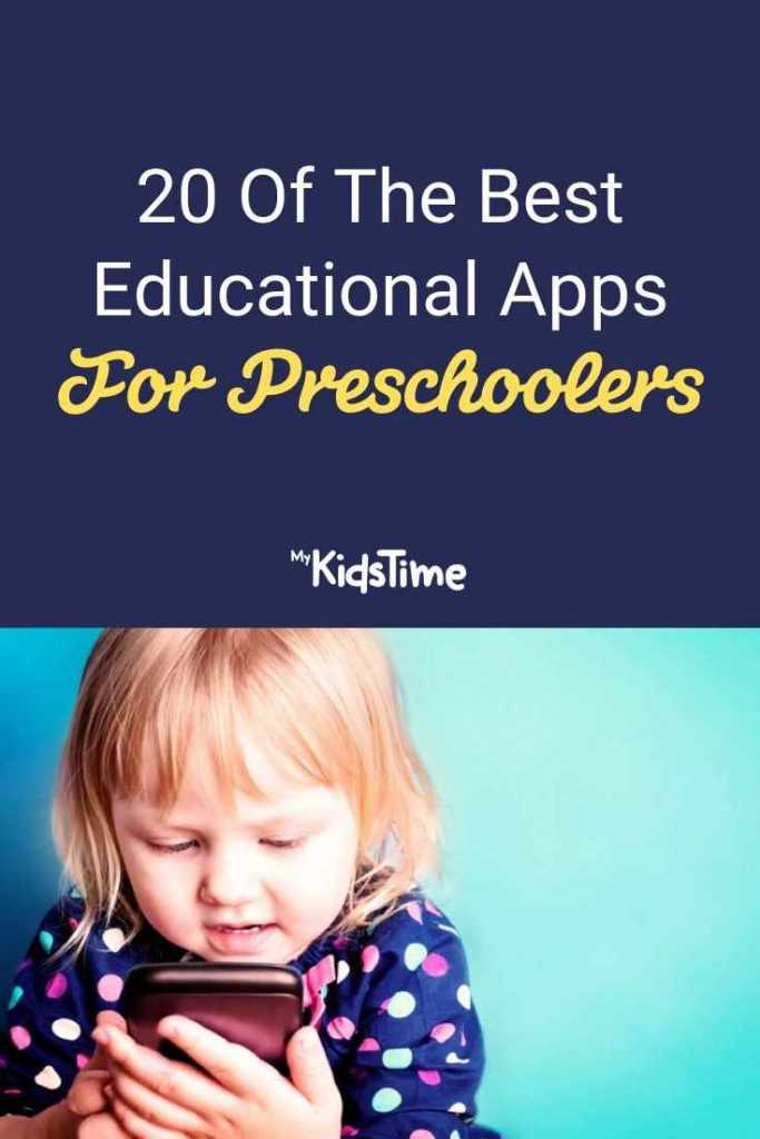 20 Of The Best Educational Apps for Preschoolers