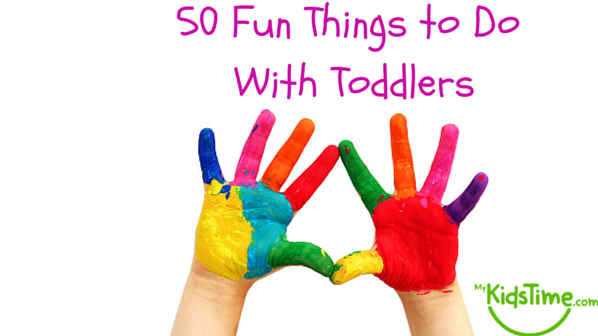 50 fun things to do with your toddler for Home need things