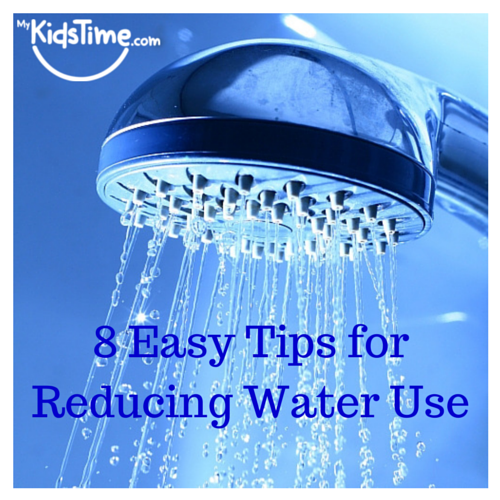 8 Easy Tips for Reducing Water Use