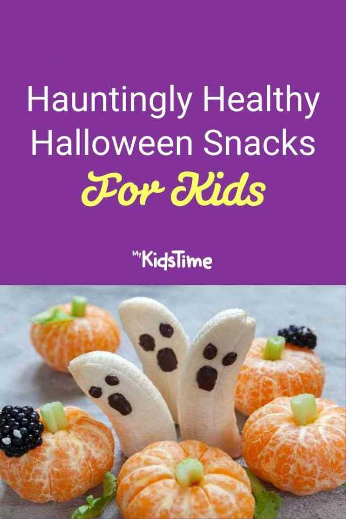 Hauntingly Healthy Halloween Snacks for Kids