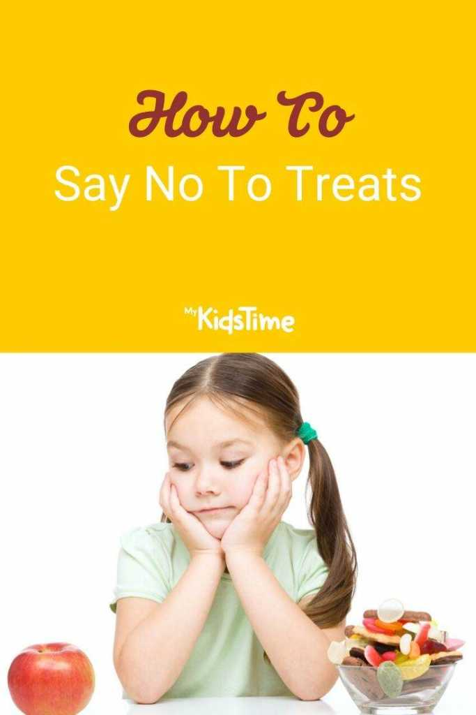 How to say no to treats