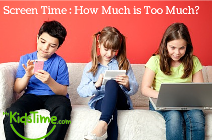 Screen Time - How Much is Too Much
