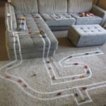 car tracks masking tape jennifer tuksal pinterest_0