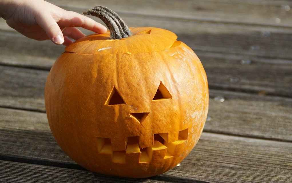halloween carved pumpkin (1)