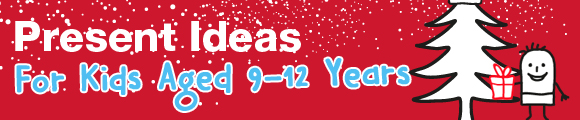 Christmas gift ideas for tween or kids aged 9 to 12 years