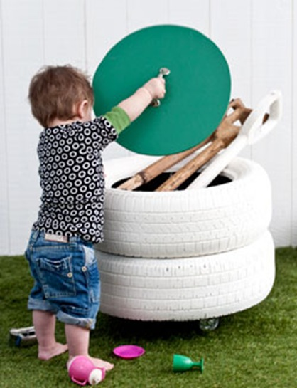 tires for outdoor toys