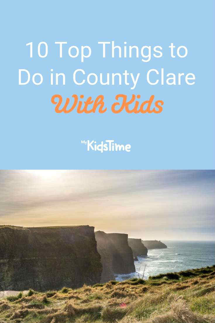 10 Top Things to Do with kids in Clare - Mykidstime