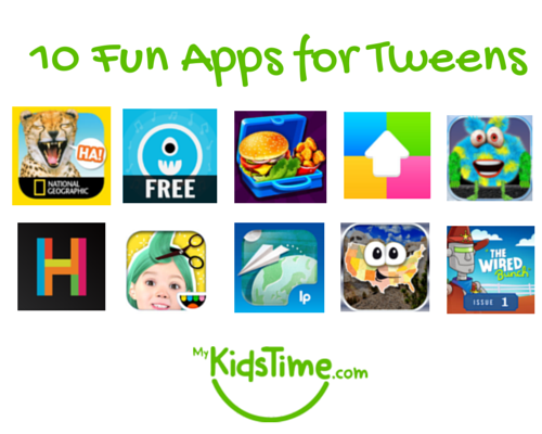 10 fun apps for tweens
